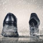 雨の日の靴